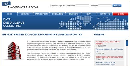 study on online gambling market