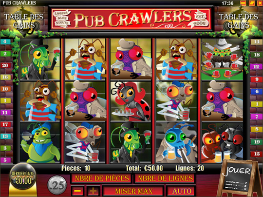 Pub Crawlers™ Slot Machine Game to Play Free in Rivals Online Casinos