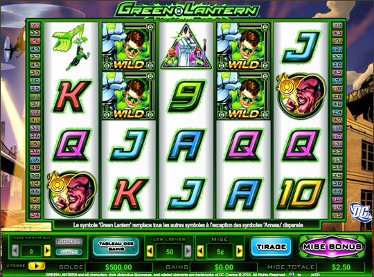 Play DC Comics Slots at Casino.com NZ